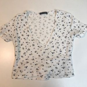 Brandy Melville Floral Top One Size